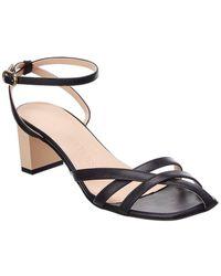 Gray Matters Mia Leather Sandal - Black