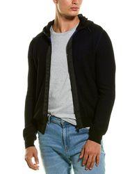 Woolrich Textured Active Hoodie - Black