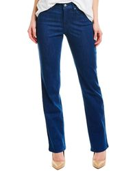 NYDJ Marilyn Kanan Straight Leg - Blue