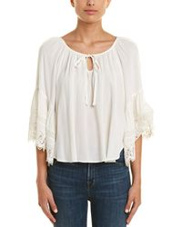 Band Of Gypsies Lace Top - White