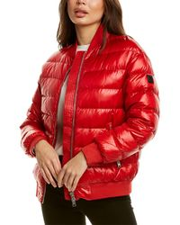 Woolrich Alquippa Down Bomber Jacket - Red
