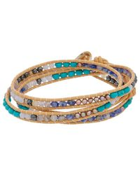 Chan Luu Cowry Shell Bracelet - Metallic
