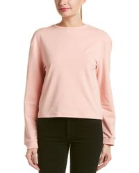 Lea & Viola - Lace-up Back Pullover - Lyst