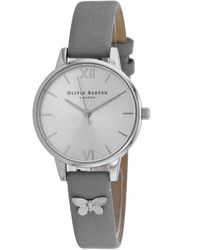 Olivia Burton Embellished Watch - Metallic