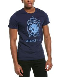 Versace Jeans Couture Regular Fit Shirt - Blue