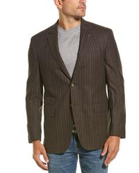 Michael Bastian Wool Blazer - Brown