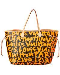 Louis Vuitton - Limited Edition Stephen Sprouse Orange Graffiti Monogram Canvas Neverfull Gm - Lyst