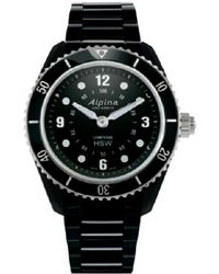 Alpina Stainless Steel Watch - Black