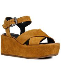Geox Zerfie Leather Sandal - Multicolour