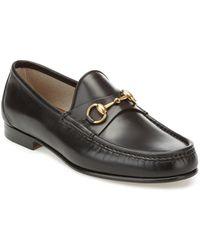 Gucci 1953 Horsebit Leather Loafer - Black
