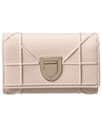 Dior Ama Leather Wallet - Pink