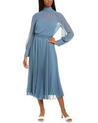 Max Mara Maliza Midi Dress - Blue