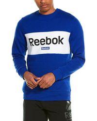 Reebok Big Logo Sweatshirt - Blue