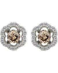 Le Vian ? Grand Sample Sale 14k Vanilla Gold? 0.44 Ct. Tw. Diamond Earrings - Metallic