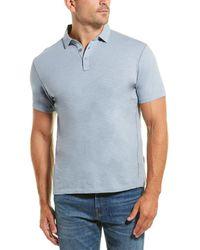 Robert Barakett Kamloops Pique Polo Shirt - Blue