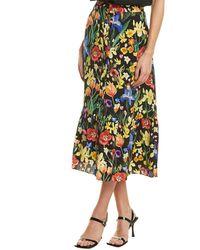 Chinti & Parker Charleston Maxi Skirt - Black