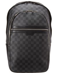 50de443352a7 Louis Vuitton - Damier Graphite Canvas Michael - Lyst