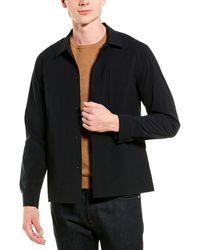 Theory Shirt Jacket - Blue