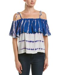 Michael Stars - Off-the-shoulder Ruffle Top - Lyst