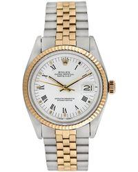 Heritage Tiffany & Co. Rolex 1960s Men's Datejust Watch - Metallic