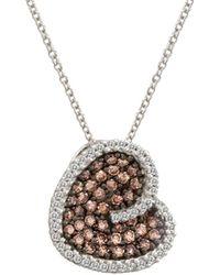 Le Vian - ® Chocolatier® 14k 0.89 Ct. Tw. Diamond Necklace - Lyst