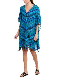 Miraclesuit Cabana Chic Caftan Cover-up - Blue