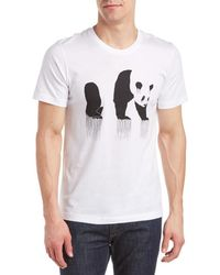 Arka - Panda Drip T-shirt - Lyst