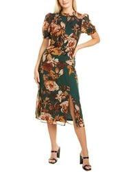 Julia Jordan Chiffon Dress - Green