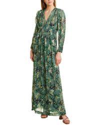 Ba&sh Quartz Maxi Dress - Green