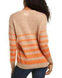 Line & Dot Rhode Wool-blend Jumper - Brown