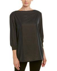 Lafayette 148 New York Miranda Top - Green