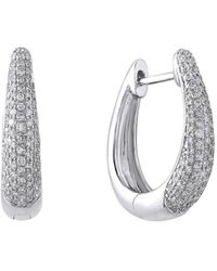 Effy 14k 0.63 Ct. Tw. Diamond Earrings - Metallic