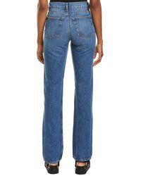 IRO Slate Country Mid Blue Bootcut Jean