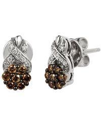 Le Vian ? Chocolatier? 14k Vanilla Gold? 0.51 Ct. Tw. Diamond Earrings - Metallic