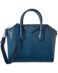 49eb555df8a Givenchy - Antigona Small Leather Tote - Lyst