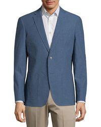 Saks Fifth Avenue - Notch Lapel Sportcoat - Lyst