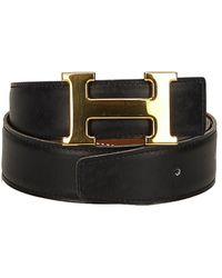 Hermès Constance Leather Belt (size 60) - Multicolour