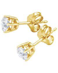Diana M. Jewels . Fine Jewellery 14k 0.50 Ct. Tw. Diamond Earrings - Metallic