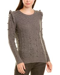 Autumn Cashmere - Cashmere & Wool-blend Sweater - Lyst