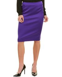 ESCADA Pencil Skirt - Purple
