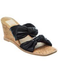 Dolce Vita Nelo Wedge Sandal - Black