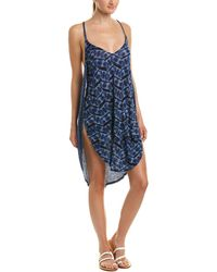 Lucky Brand Nomad Ikat Cover-up - Blue