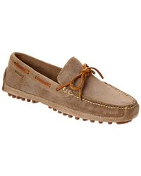 Cole Haan - Grant Canoe Camp Suede Driver - Lyst