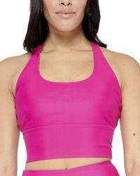 Electric Yoga Basic Crisscross Bra - Pink