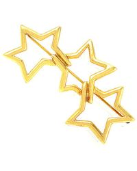Heritage Tiffany & Co. Tiffany & Co. 18k Star Brooch - Metallic