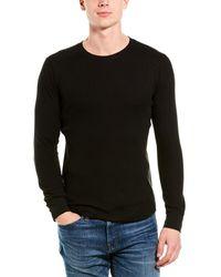 Vince Waffle-knit Shirt - Black