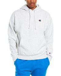 Champion Reverse Weave Hoodie - Grey