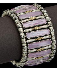 Konstantino - Iliada 18k & Silver 80.00 Ct. Tw. Mother-of-pearl Gemstone Doublet - Lyst