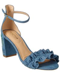Kenneth Cole Reaction - Rise Ruffle Sandal - Lyst