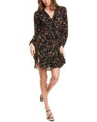 Maje Rosalio Mini Dress - Black